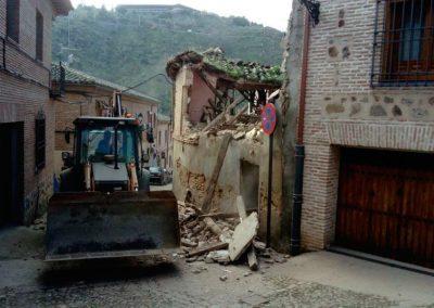 Demolición en vivienda unifamiliar